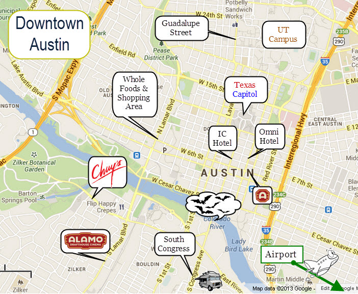 Downtown Austin Zip Code Map